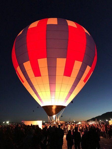 The next batch of Dawn Patrol balloons getting ready to take off