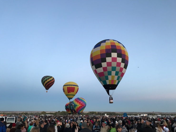 The last of the Dawn Patrol balloons