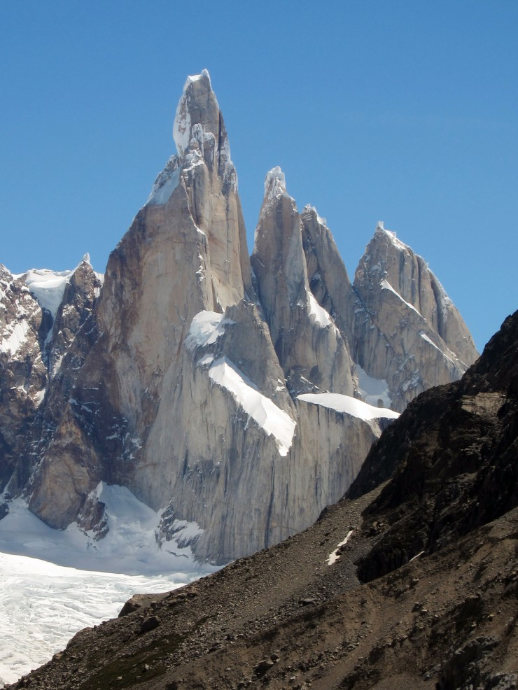View of Cerro Torre from the Mirador Maestri