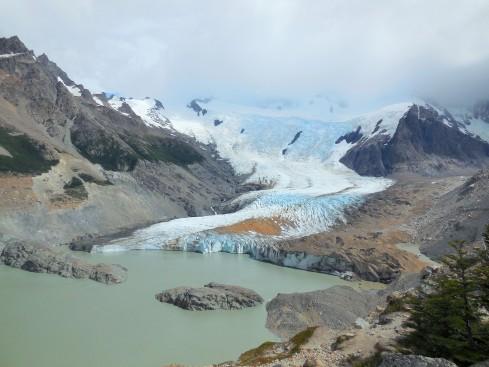 View of Glacier Grande from the Mirador Maestri