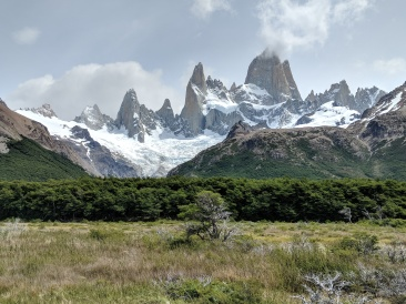 Another great view of Mount Fitz Roy