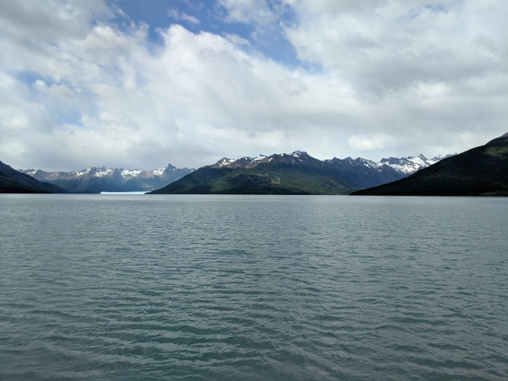 View of the Perito Moreno Glacier and the Canal de los Tempanos