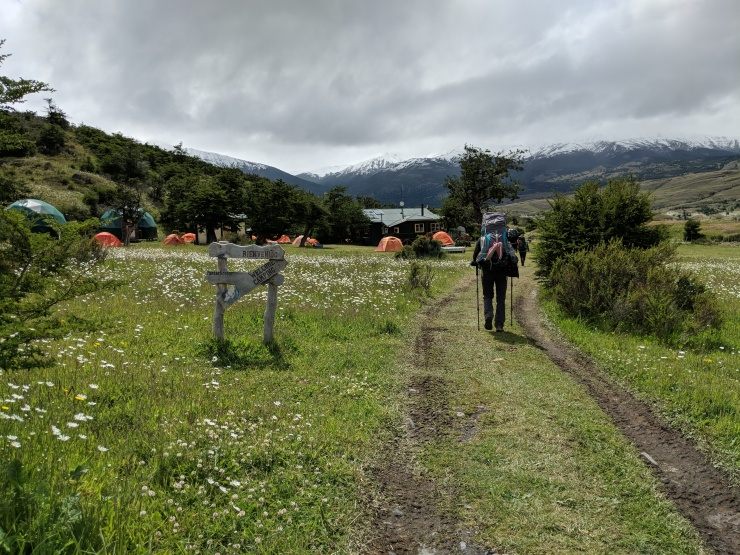 Camp Seron sits in a nice meadow that has great views of the surrounding mountains