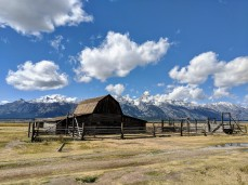 John Moulton barn near Grand Teton National Park