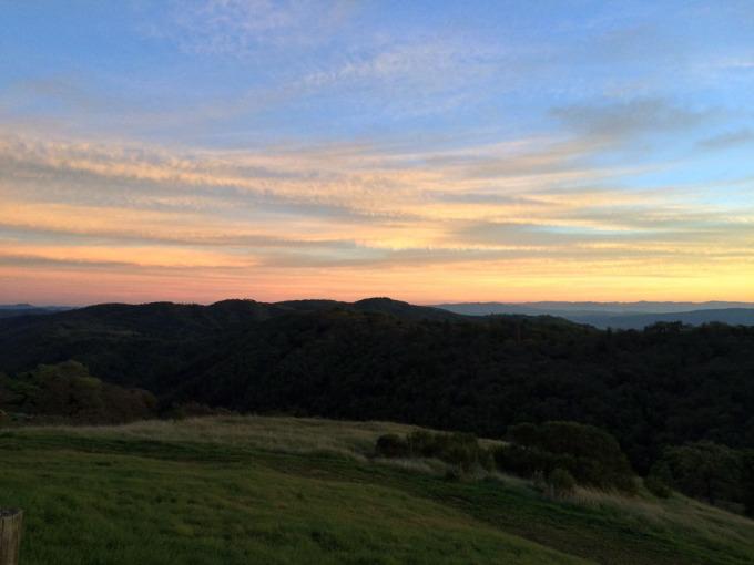 Henry-coe-backpacking-mississippi-headquarters-sunset