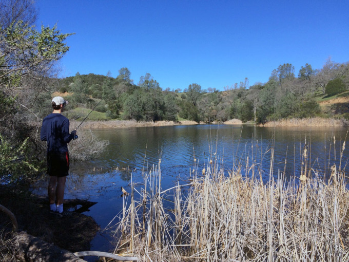 Henry-coe-backpacking-mississippi-lake-shore-fishing