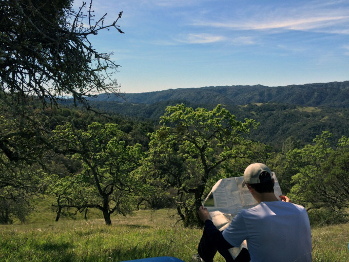 Henry-coe-backpacking-mississippi-willow-ridge-break