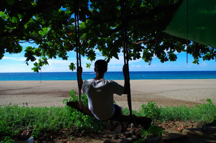 Kalalau-beach-swing-at-campsite