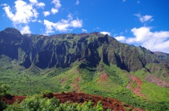 The amazing Napali Coast makes for the best backdrop in this section.