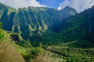 Epic view of the Ho'Olulu Valley (credit: Joey Doll)
