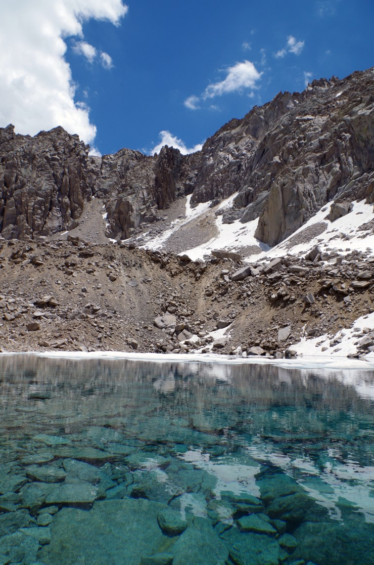 kings-canyon-rae-lakes-JMT-lake-11260-clear-water