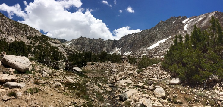 kings-canyon-rae-lakes-loop-JMT-near-glen-pass