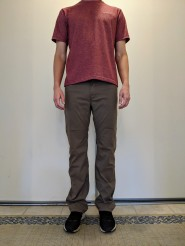 prAna Brion pants front