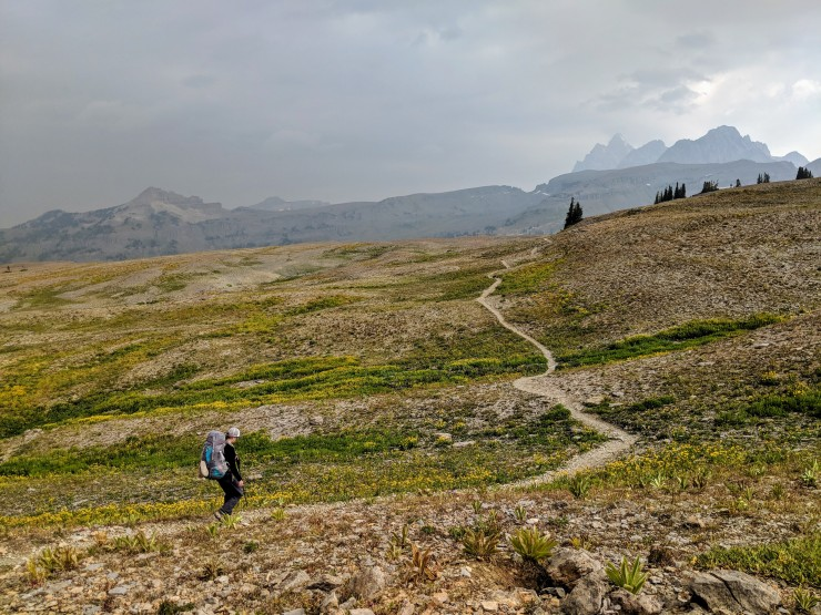 Teton-crest-trail-backpacking-after-mount-meek-pass