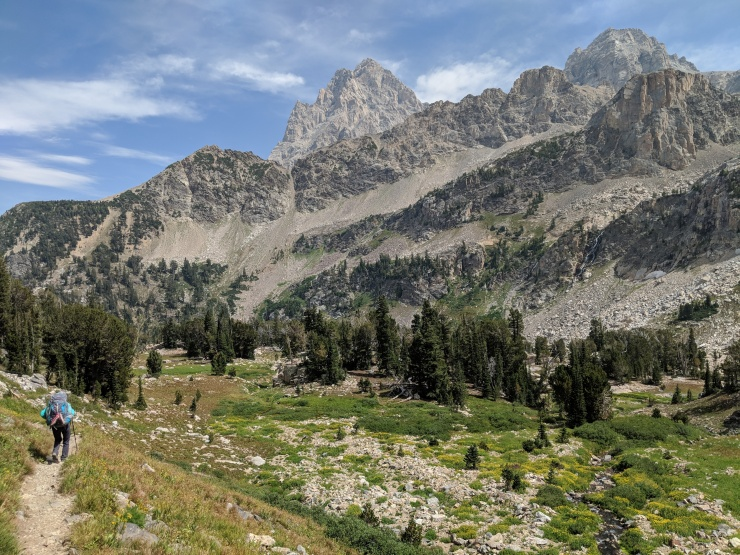 Teton-crest-trail-backpacking-getting-closer-to-tetons