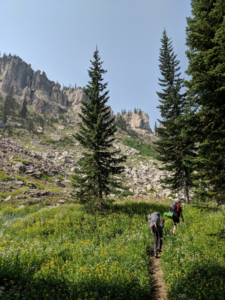 Teton-crest-trail-backpacking-granite-canyon-approach-marion-lake