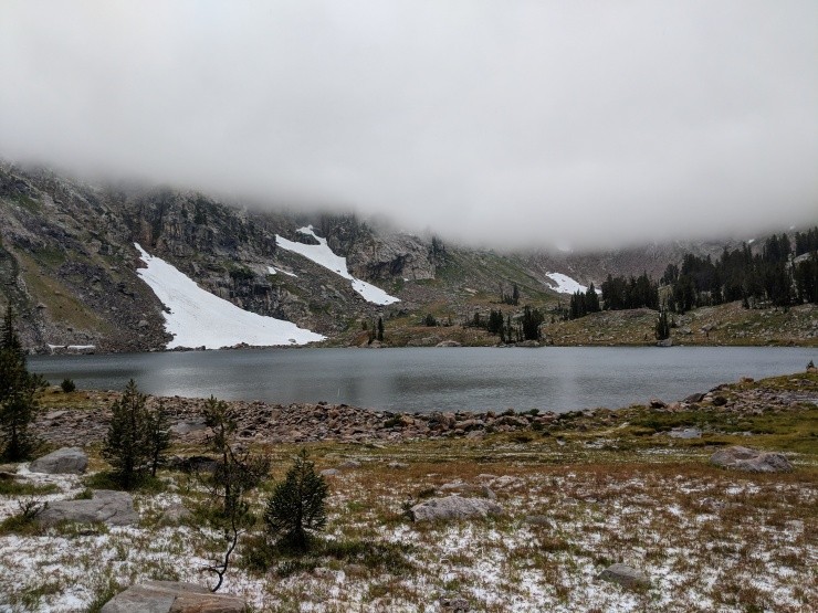 Teton-crest-trail-backpacking-lake-solitude-in-clouds