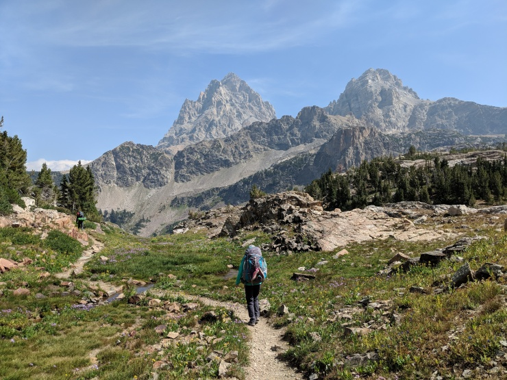 Teton-crest-trail-backpacking-view-along-south-fork-cascade-canyon