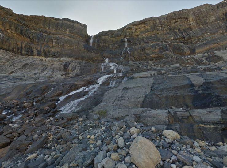 Base-of-bow-glacier-falls