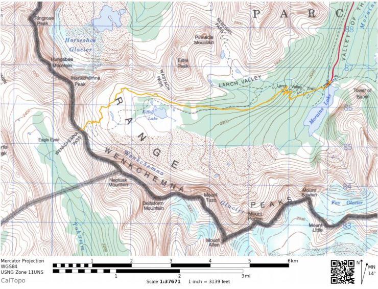 Overall-map-moraine-lake-eiffel-lake-wenkchemna-pass