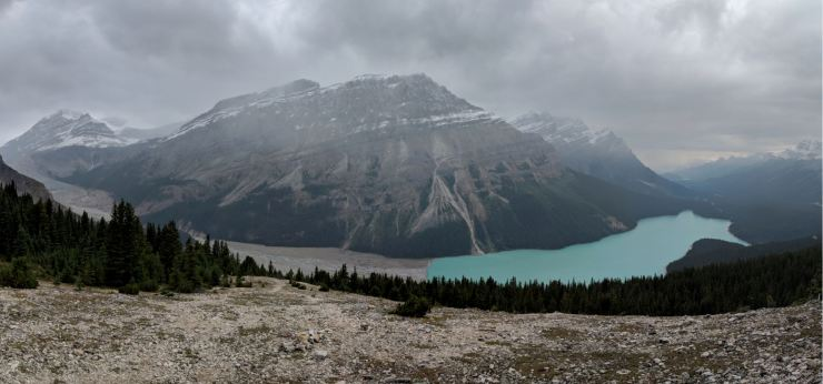 Peyto-lake-from-upper-viewpoint-panoramic