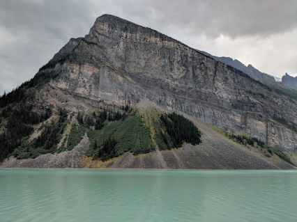 Fairview Mountain and Lake Louise.