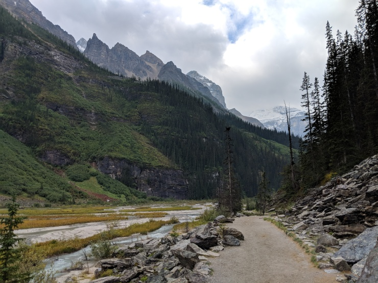 plain-of-six-glaciers-trail-up-valley