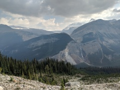 Another view of Takakkaw Falls and the Yoho Valley.