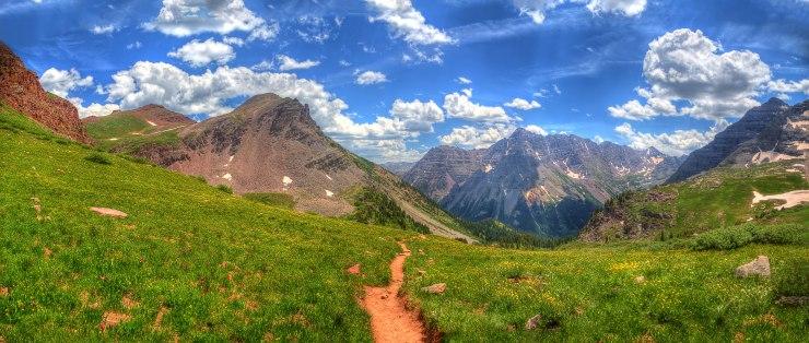 hiking_down_from_buckskin_pass