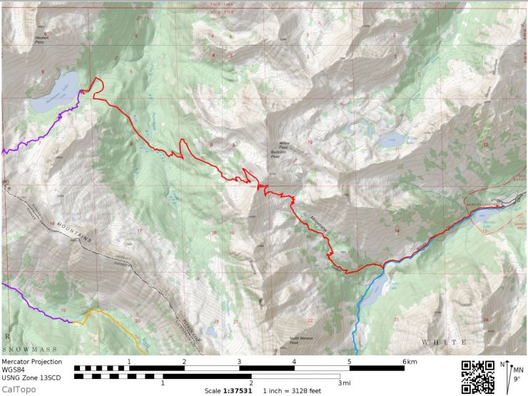 maroon-bells-four-pass-loop-map-day-4