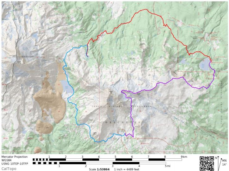 three-sisters-wilderness-broken-top-loop-overall-map