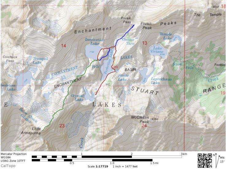 Enchantments-backpacking-core-zone-sidetrips-map