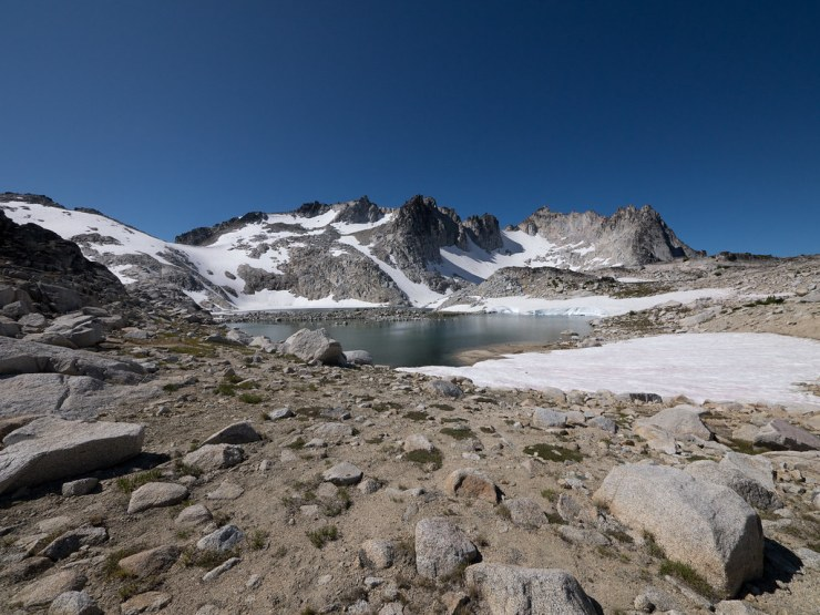 Isolation Lake in the upper Enchantment zone.