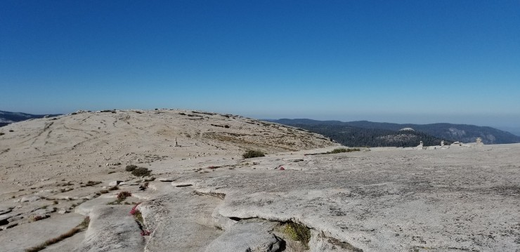 flat-area-summit-of-half-dome