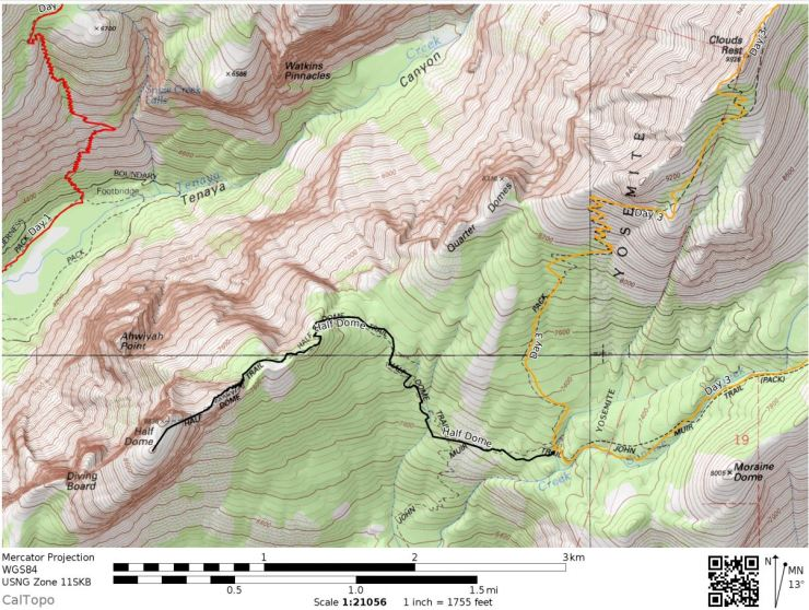 Map-half-dome-side-trip