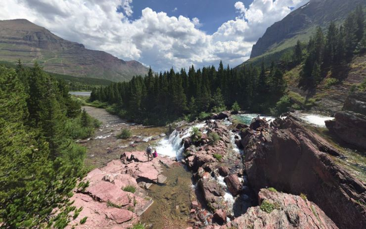 glacier-backpacking-north-circle-swift-current-pass-trail-17-1-redrock-falls-markus-foote