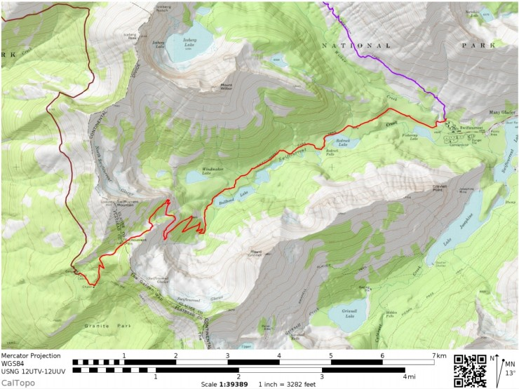Glacier-national-park-backpacking-north-circle-day6-map