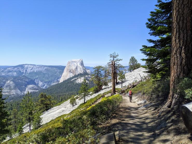 yosemite-backpacking-clouds-rest-descent-hiker-half-dome