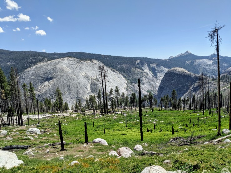 yosemite-backpacking-merced-high-trail-bunnell-point-view