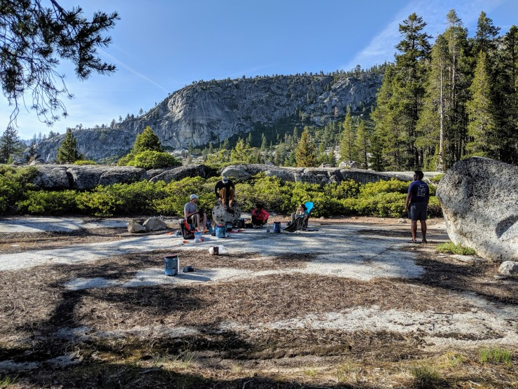 yosemite-backpacking-merced-high-trail-campsite-hangout