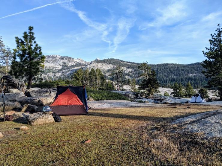 yosemite-backpacking-merced-high-trail-campsite