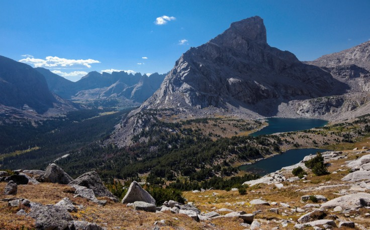 You then continue to climb upwards on Lizard Head Trail for the next 1.5 miles. Looking back you get nice views of the Cirque of the Towers and of Bear Lake (credit: John Strother)