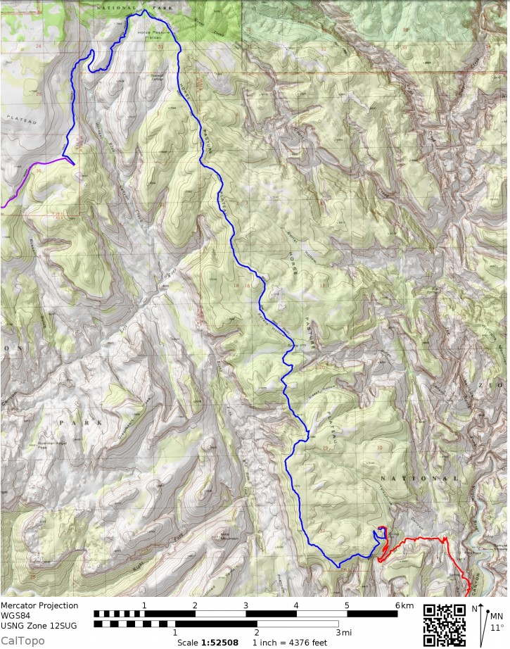 Zion-traverse-backpacking-day-3-map