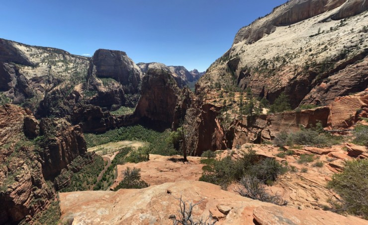 zion-traverse-west-rim-trail-before-angels-landing