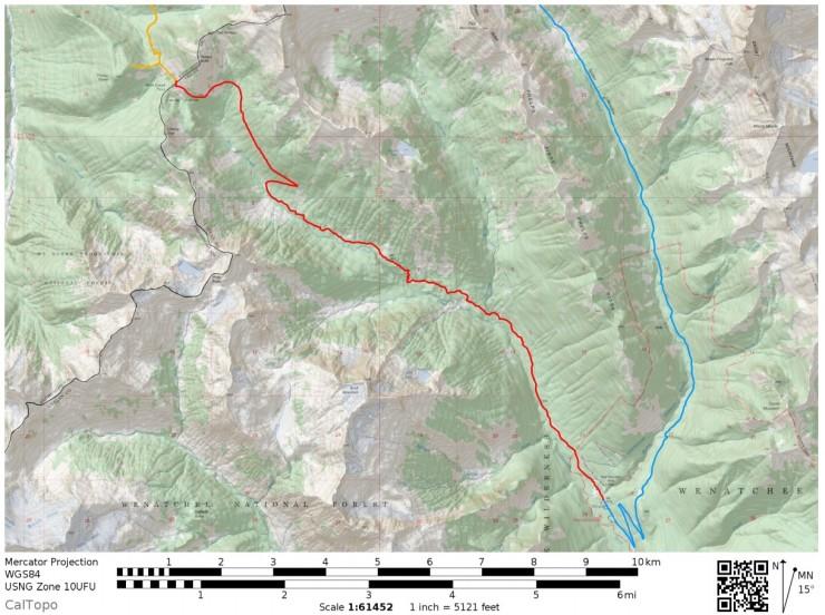glacier-peak-backpacking-map-day4