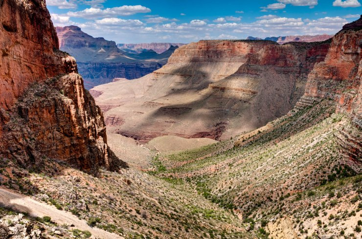 Seen from the Grandview Trail in Grand Canyon National Park, Arizona