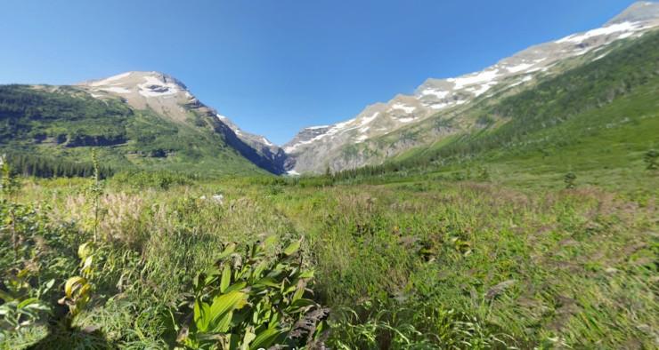 glacier-gunsight-approaching-gunsight-camp