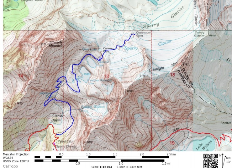 glacier-gunsight-map-sperry-glacier