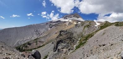 Gnarl Ridge, Mt. Hood, and Newton Creek