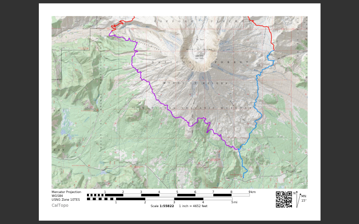 loowit-trail-day-1-map